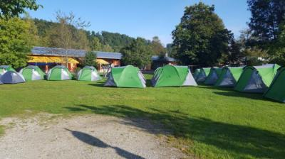 Hostels und Jugendherbergen - ESN Oktoberfest campsite