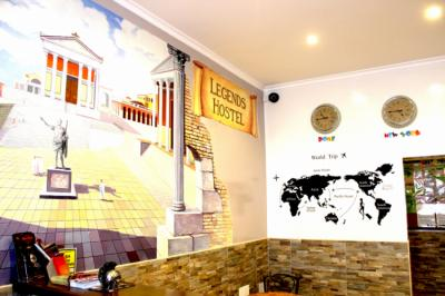 Hostels und Jugendherbergen - Legends Hostel Rome